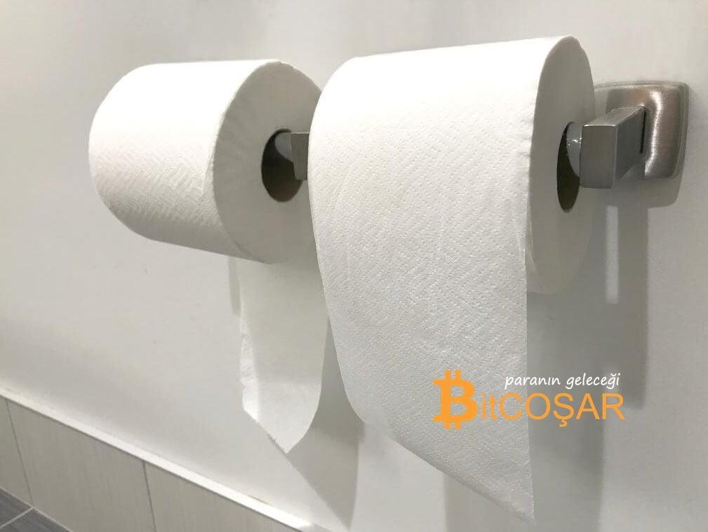 tuvalet kağıdı koini