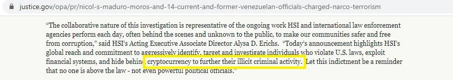 Venezuela Devlet Başkanı'nın Kripto Para Kullanarak Uyuşturucu Kaçırdığı İddia Ediliyor! 2 - venezuela devlet baskani nicolas maduro kripto para kullanarak uyusturucu kacirdi