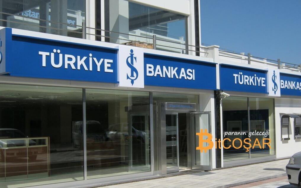 iş bankası blockchain